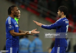 Didier Drogba helped me settle in at Chelsea, reveals Diego Costa
