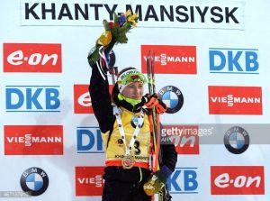 Biathlon, inseguimento donne Khanty-Mansiysk: Darya Domracheva trionfa in Russia ed è ad un passo dalla Coppa del Mondo