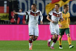 Germania, aria amichevole. Segna Podolski, con l'Australia è 2-2