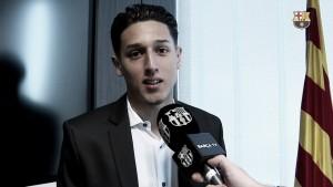 """Kike Saverio: """"Contento por la confianza que me ha dado el club"""""""
