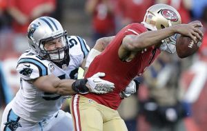 49ers y Panthers, un duelo parejo