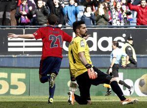 Osasuna - Getafe: puntuaciones de Osasuna, jornada 23