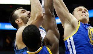 Los Warriors asaltan el Target gracias a un gran Thompson