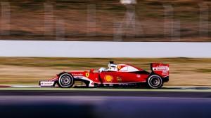 "Barcellona, Vettel: ""La vettura reagisce bene"""