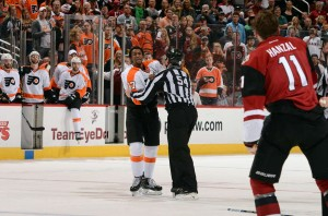 Arizona Coyotes Out Fight Philadelphia Flyers For Third Straight Win