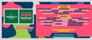 El WAM Estrella de Levante confirma su cartel por días con más de 50 artistas