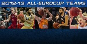 Vasileiadis y Hamilton en los quintetos ideales de la Eurocup