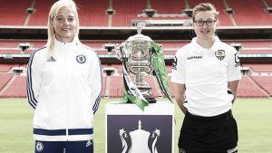 Chelsea - Notts County, a levantar la FA Cup femenina en Wembley
