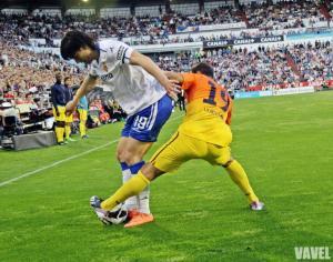 Real Zaragoza- F.C.Barcelona: puntuaciones de los jugadores del Real Zaragoza, jornada 31