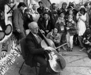 Rostropovich y la caída del muro