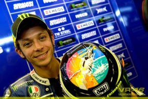 Rossi ricorda Simoncelli con i Pink Floyd