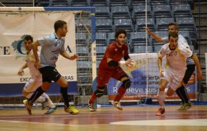 Santiago Futsal gana de manera contundente a Uruguay Tenerife