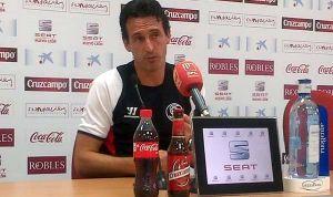 """Emery: """"Necesitamos confianza y eso pasa por ganar en Anoeta"""""""
