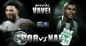 Previa Coritiba FC vs Atlético Nacional: duelo de 'verdes' por la esperanza sudamericana