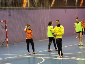 """Luismi Ascorbe, técnico del Sporting La Rioja: """"Logroño es un sitio ideal para el balonmano"""""""