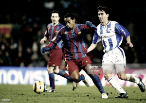 Historia de los enfrentamientos entre Alavés y Barcelona