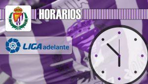El Real Valladolid ya conoce sus horarios para las jornadas 11 y 12