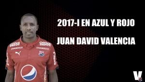 2017-I en azul y rojo: Juan David Valencia