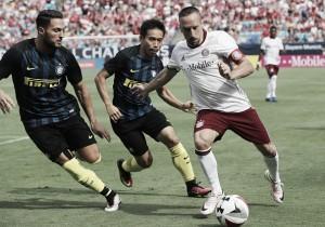 Resultado Bayern de Munique x Internazionale pela Champions Cup (0-2)