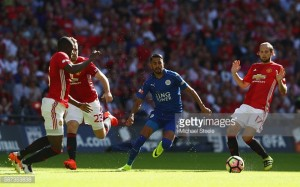 A pulsating first half attacking display from Mourinho's men seen them dispatch the Foxes, scoring four goals