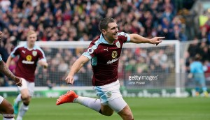 "Sam Vokes claims Burnley will travel to Anfield ""full of confidence"""
