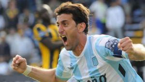 """Diego Milito:""""Hicimos tres puntos en una cancha difícil"""""""