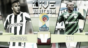 Resultado final: Nacional 2- Cali 1. Liga Águila