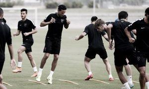 El Málaga sigue preparando la quinta jornada