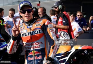 Marquez to start from second on grid after Rossi stole pole from him at Motegi