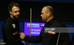 Welsh Open 2017: Judd Trump to meet Stuart Bingham in Sunday's final