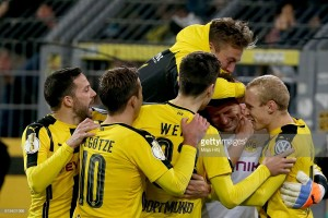 Borussia Dortmund (3) 1-1 (0) 1. FC Union Berlin: Weidenfeller stars in shootout win