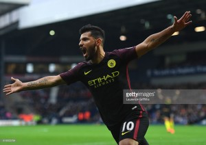 West Brom 0-4 Manchester City: Aguero the star as Citizens rout Baggies