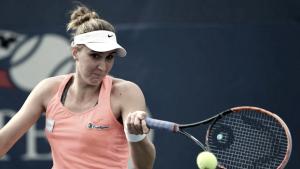 Bia Haddad é eliminada por croata Vekic na estreia do US Open