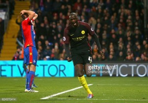 Crystal Palace 1-2 Manchester City: Toure nets brace on return as Eagles suffer latest defeat