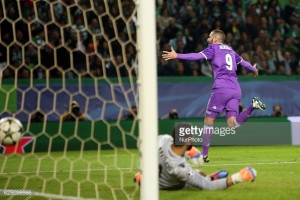 Sporting Lisbon 1-2 Real Madrid: Late Benzema strike keeps Madrid on Dortmund's tail