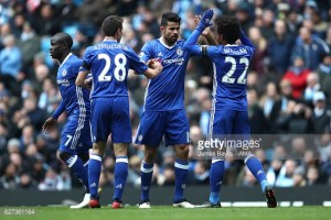 Manchester City 1-3 Chelsea: Blues stay top after comeback against nine-man City
