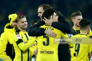 Borussia Dortmund 4-1 Borussia Monchengladbach: Delightful display from Dortmund as Gladbach's poor run continues