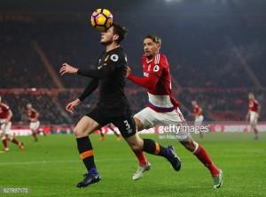 Hull City not good enough, says Robertson after Boro loss