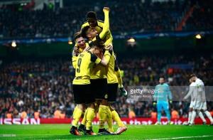 Real Madrid 2-2 Borussia Dortmund: Marco Reus strikes to snatch Group F top spot