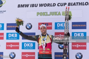 Martin Fourcade claims victorious double in Pokjulka with Pursuit triumph