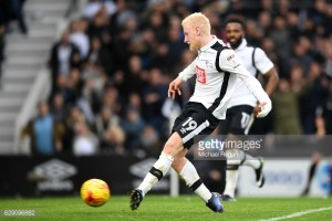 Reports suggest Watford have had £7 million bid for Derby midfielder Will Hughes accepted