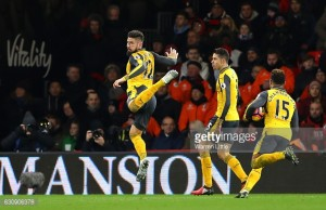 Bournemouth 3-3 Arsenal: Giroud-inspired Gunners mount thrilling comeback to claim late point