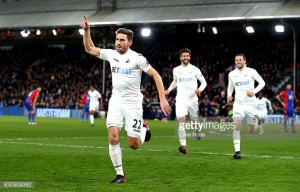Crystal Palace 1-2 Swansea City: Late Rangel strike earns vitalthree points in first game of Clement's regime