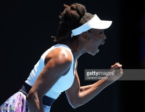 Australian Open: Venus Williams battles past inspired Kateryna Kozlova