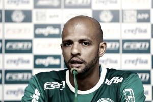 """Felipe Melo é reintegrado ao elenco do Palmeiras: """"Estou aqui para fazer o que chefe mandar"""""""