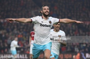 "West Ham ""fully deserved"" points in Middlesbrough victory, states Andy Carroll"
