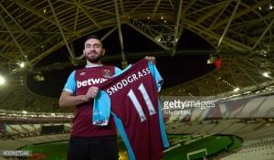 West Ham United complete £10.2 million signing of midfielder Robert Snodgrass