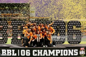 Perth Scorchers claim third Big Bash title with dominant nine-wicket win over Sydney Sixers
