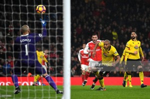 Arsenal 1-2 Watford: Arsenal player ratings from shock defeat