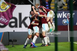 Burnley 1-0 Leicester City: Late Sam Vokes goal seals dramatic win